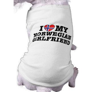 Norwegian Girlfriend Doggie Tee