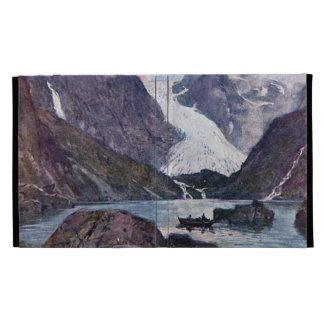 Norwegian glacier iPad folio cases