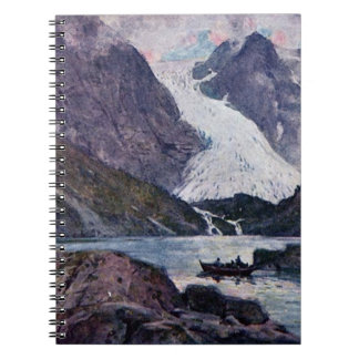 Norwegian glacier notebook