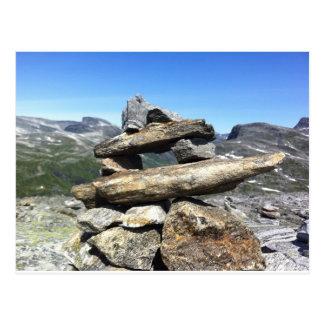 Norwegian Glacier Postcard