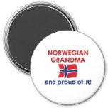 Norwegian Grandma-Proud of it Magnets