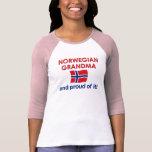 Norwegian Grandma-Proud of it T-shirts