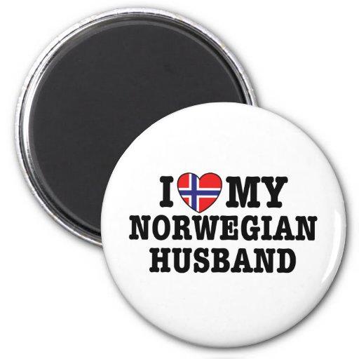 Norwegian Husband Magnets