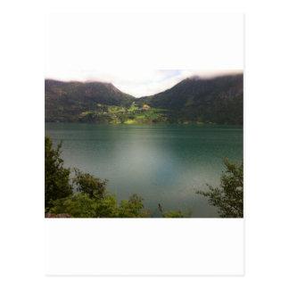 Norwegian Lake Postcard