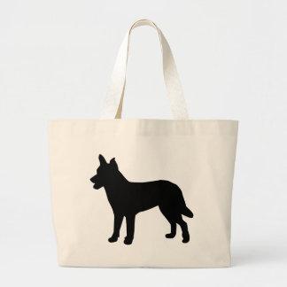 NorwegianLundehund Jumbo Tote Bag