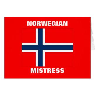 NORWEGIAN MISTRESS CARD