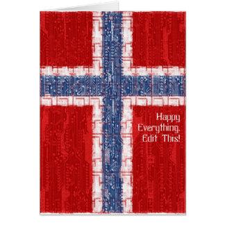 Norwegian Motherboard Theme Card