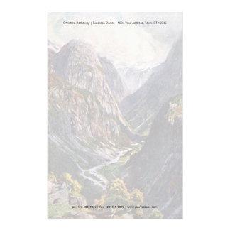 Norwegian mountain pass stationery