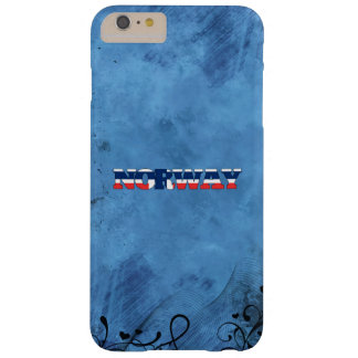 Norwegian name and flag on cool wall barely there iPhone 6 plus case