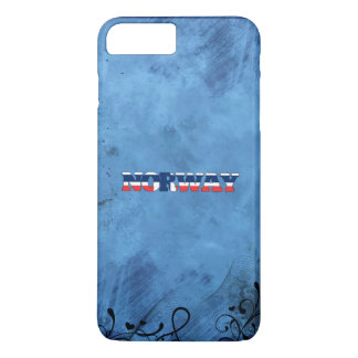 Norwegian name and flag on cool wall iPhone 8 plus/7 plus case