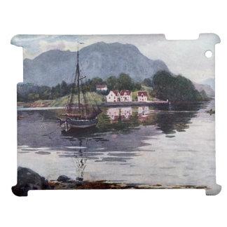 Norwegian nature getaway iPad case