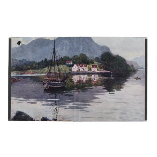 Norwegian nature getaway iPad folio case