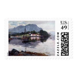 Norwegian nature getaway stamps