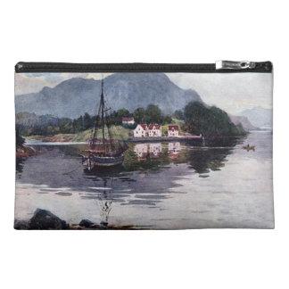 Norwegian nature getaway travel accessory bag