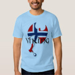 Norwegian Norse Norge Norway flag Axe Tee Shirt