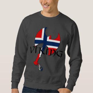 Norwegian - Norwegian flag Norse Norge Norway Axe Sweatshirt