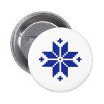 Norwegian pattern star pins