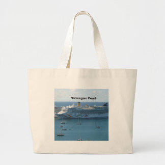 Norwegian Pearl Large Tote Bag