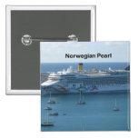 Norwegian Pearl Pinback Button