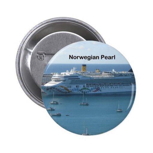 Norwegian Pearl Pins
