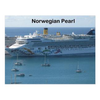 Norwegian Pearl Postcard