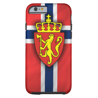 Norwegian Pride Tough iPhone 6 Case