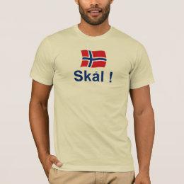 Norwegian Skal! (Cheers) T-Shirt
