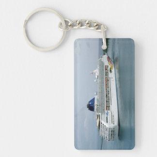 Norwegian Sky Rectangle Acrylic Key Chain