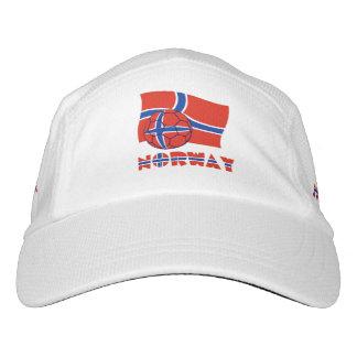 Norwegian Soccer Ball and Flag Hat