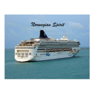 Norwegian Spirit Postcard