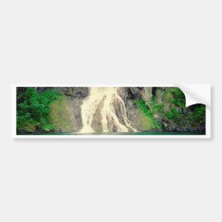 Norwegian Waterfall 2 Bumper Sticker