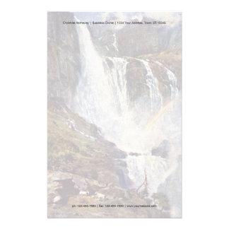 Norwegian waterfall stationery