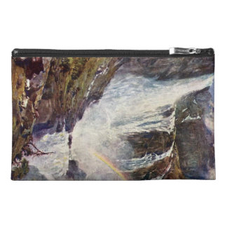 Norwegian waterfall travel accessory bag