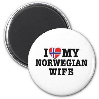Norwegian Wife Magnet