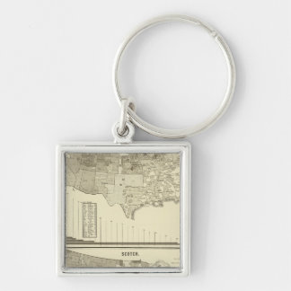 Norwegians and Swedes Keychain