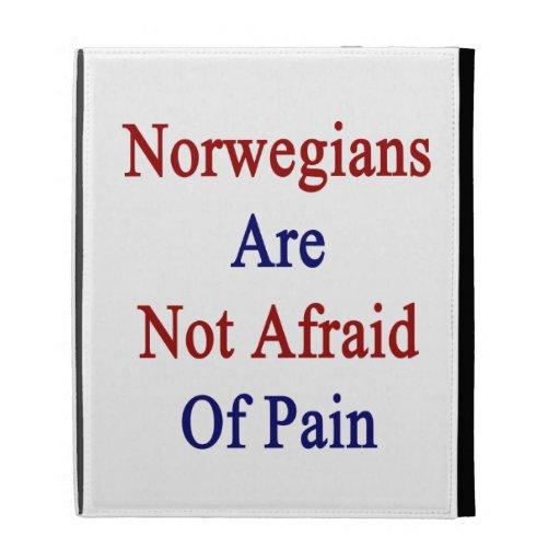 Norwegians Are Not Afraid Of Pain iPad Folio Cases