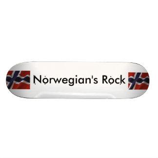 Norwegian's Rock Skateboard Deck