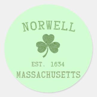 Norwell MA Sticker
