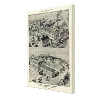 Norwich Bleachery 2 Canvas Print