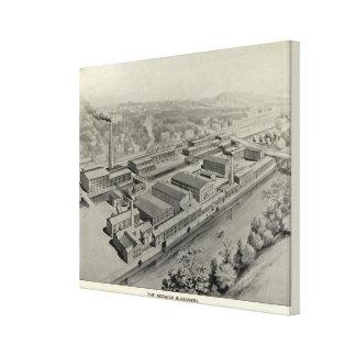 Norwich Bleachery Canvas Print