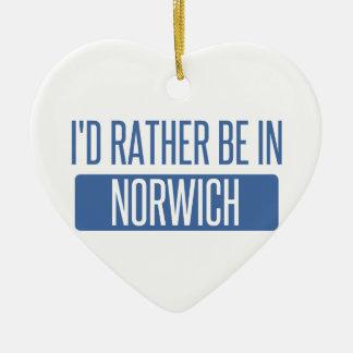 Norwich Ceramic Ornament