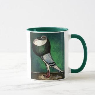 Norwich Cropper Blue Pied Mug