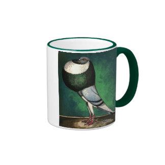 Norwich Cropper Blue Pied Mugs
