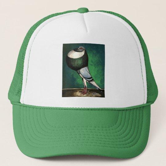 Norwich Cropper Blue Pied Trucker Hat
