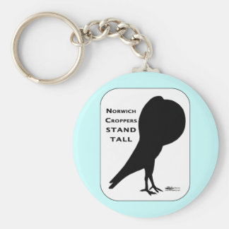 Norwich Croppers Stand Tall Keychain