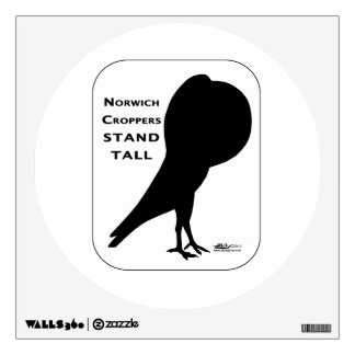 Norwich Croppers Stand Tall Wall Sticker