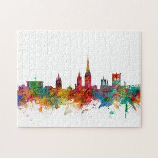 Norwich England Skyline Puzzle