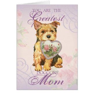 Norwich Heart Mom Card
