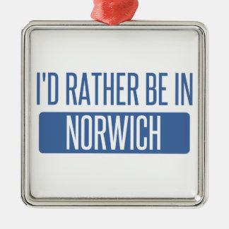 Norwich Metal Ornament