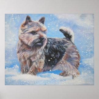 Norwich Terrier Art Print
